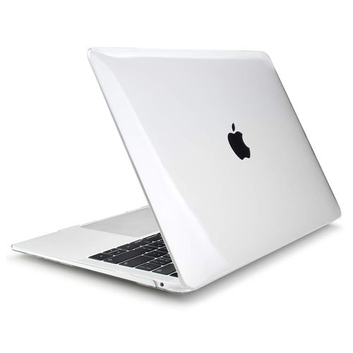 Glossy Hard Shell Case for Apple MacBook Air (13-inch) 2020 / 2019 / 2018 - Clear